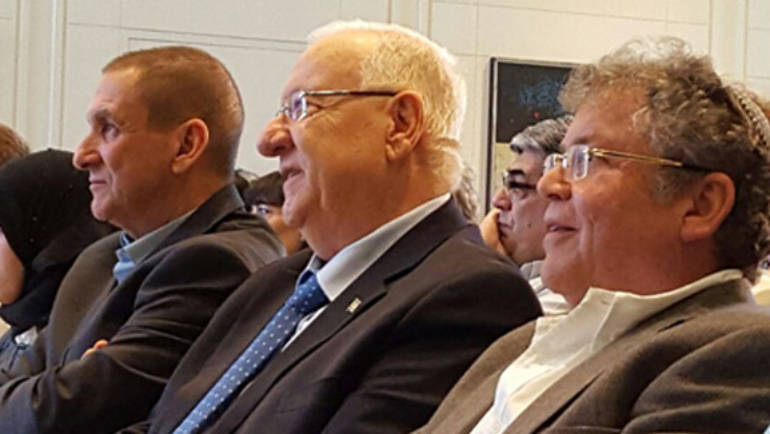 Israel's President Rivlin Praises Israel Sci-Tech Schools' Energy Efficiency Project
