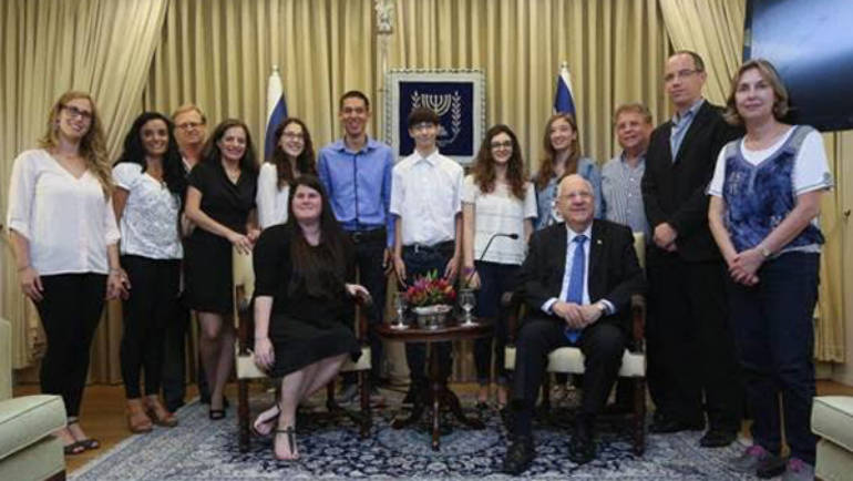 "President Rivlin: ""You are not just 'Web Rangers', you are the leaders of the future!"""