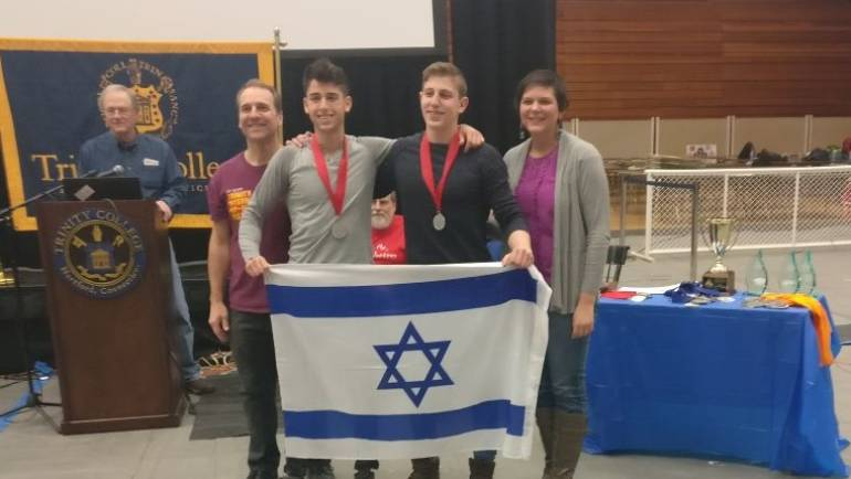 Our Winning Team at the international Roboner Robotics competition in Connecticut, USA