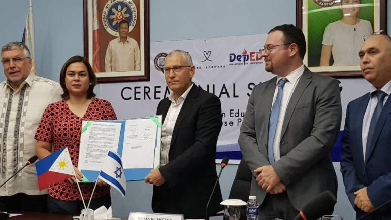 Sci-Tech Israel at the Philippines