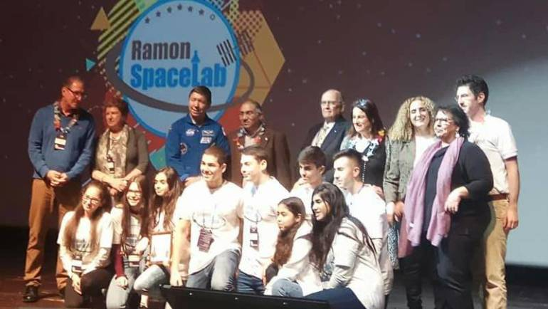 Sci Tech Students among Ramon Spacelab Finals Winners