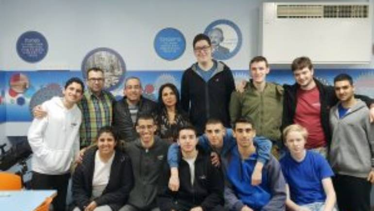 Students become Particle Hunters with Visit to CERN Switzerland
